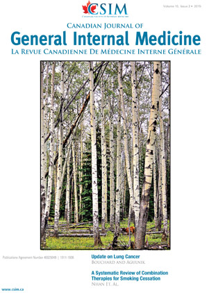 canadian journal of internal medicine volume 10 issue 2