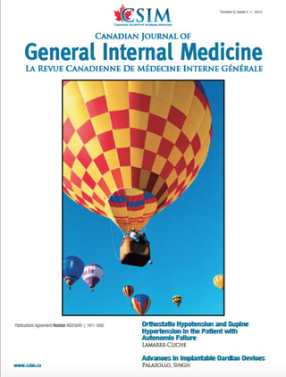 canadian journal of internal medicine volume 9 issue 3